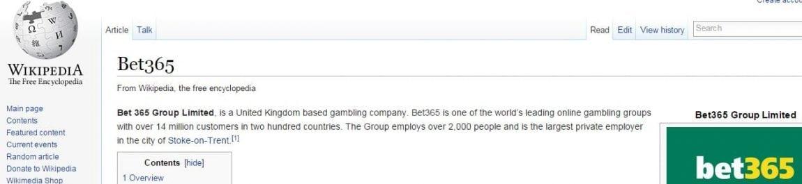 bet365 wikipedia