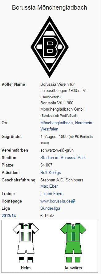 Borussia Mönchengladbach – Wikipedia