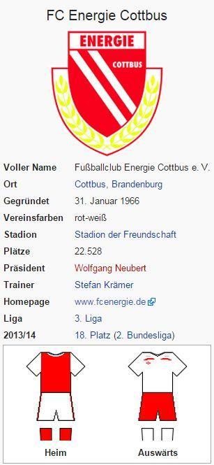 Energie Cottbus – Wikipedia