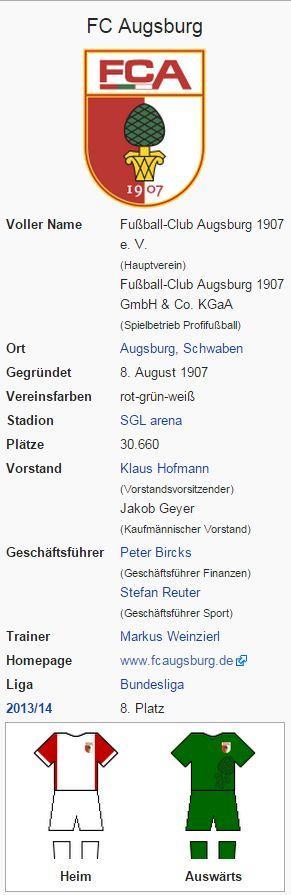 FC Augsburg – Wikipedia