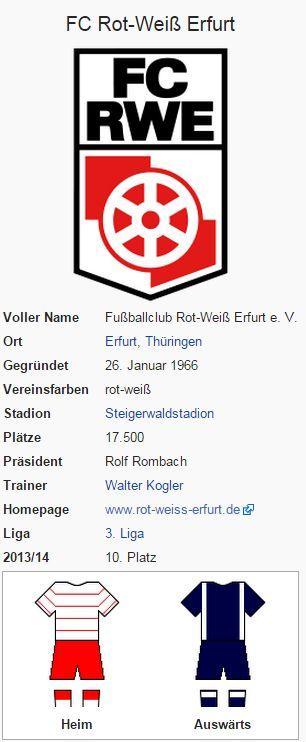 FC Rot-Weiß Erfurt – Wikipedia