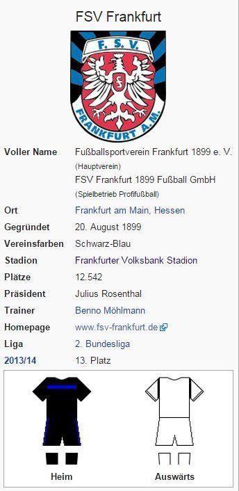 FSV Frankfurt – Wikipedia