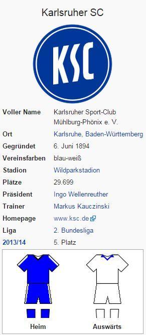 Karlsruher SC – Wikipedia