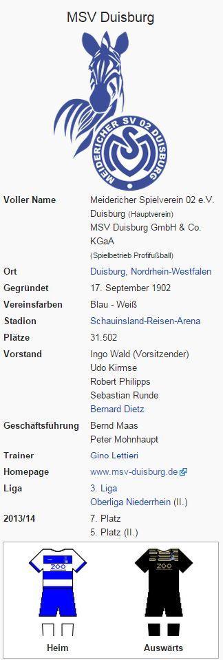 MSV Duisburg – Wikipedia