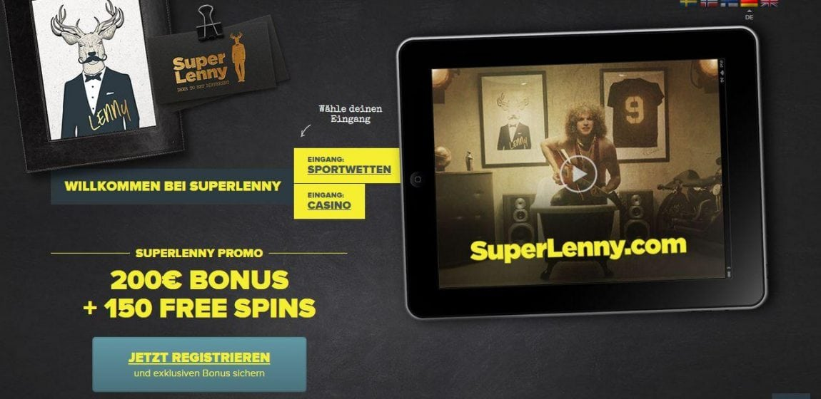 superlenny website