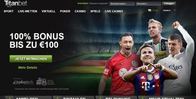 Titan Bet- Ihr sicherer Online Sportwetten Anbieter!