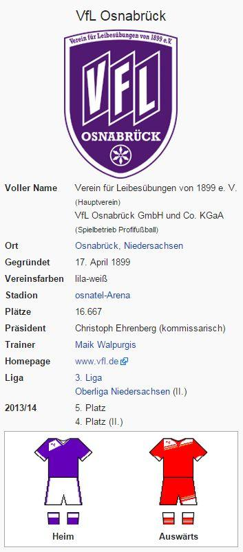VfL Osnabrück – Wikipedia
