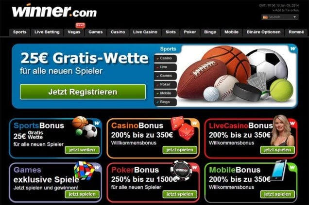 winner sport casino online
