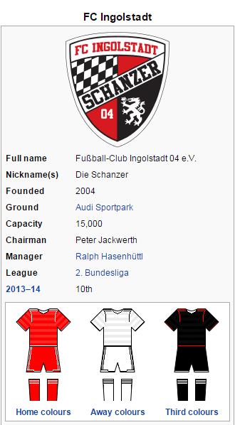 FC Ingolstadt Wikipedia