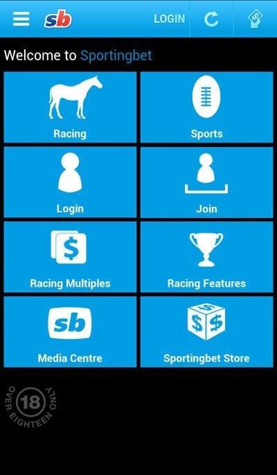 sportingbet app - wettmöglichkeiten