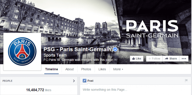 paris st. germain auf facebook