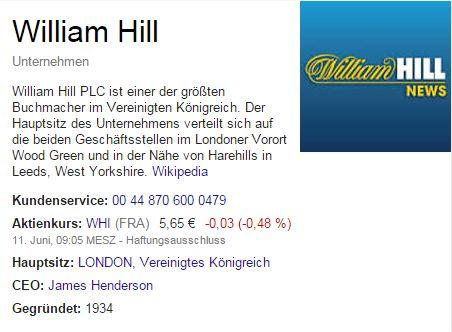 william hill - Google-Suche