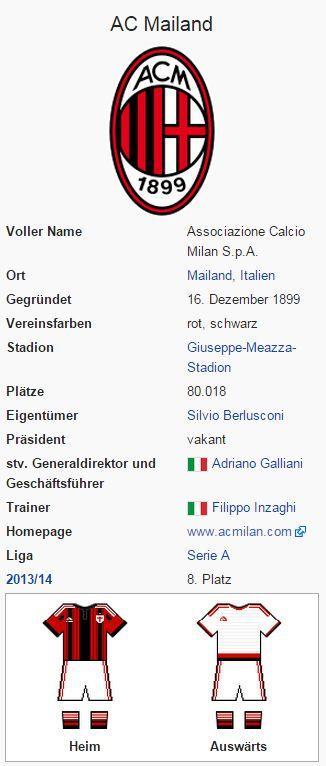 AC Mailand – Wikipedia