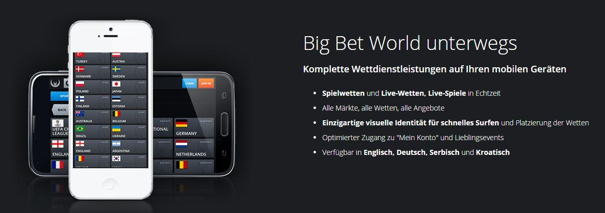 Mobile I Big Bet World