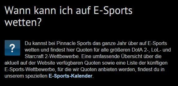 pinnacle sports wetten