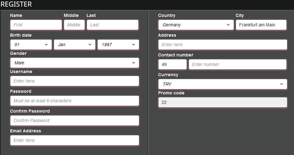 betkurus registrieren