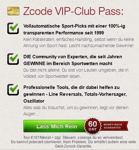 zcode vip pass