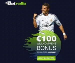 €100 1st Deposit Bonus I Betrally