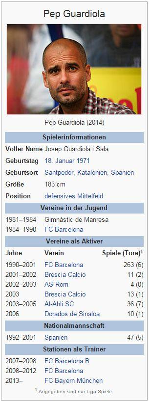 Pep Guardiola – Wikipedia