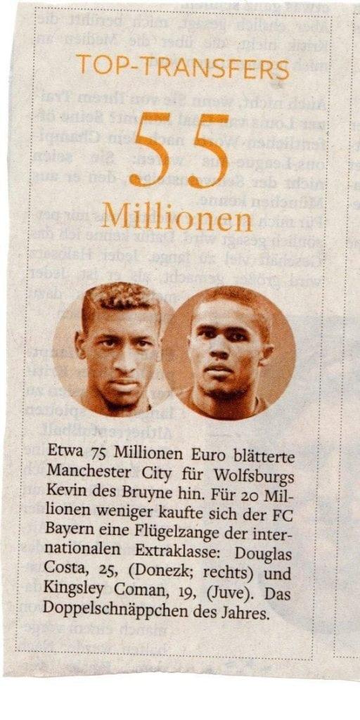 55millionen euro transfer