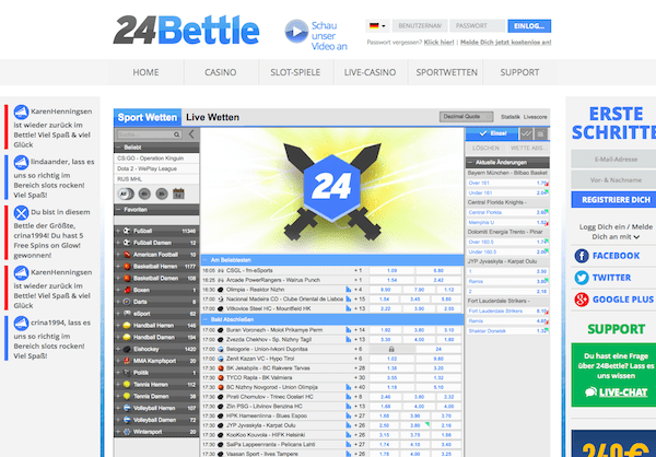 Startseite 24bettle.com
