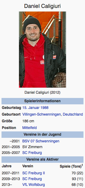 Screenshot Daniel Caligiuri / Wikipedia