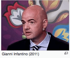 Screenshot Gianni Infantino / Wikipedia