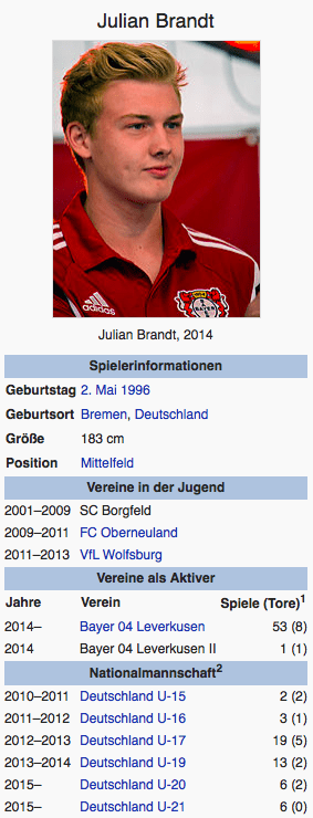 Screenshot Julian Brandt / Wikipedia