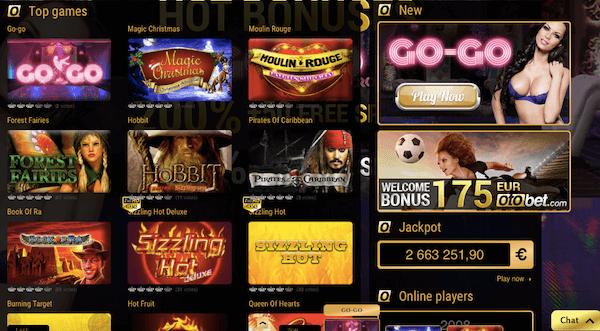 Ein Casino gehört ebenfalls zum Repertoire der Polen