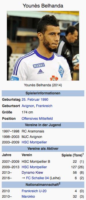 Screenshot Younés Belhanda / Wikipedia