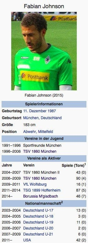 Fabian Johnson / Screenshot Wikipedia