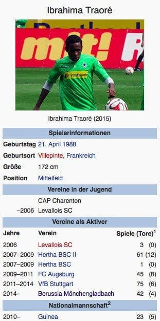 Ibrahima Traoré / Screenshot Wikipedia