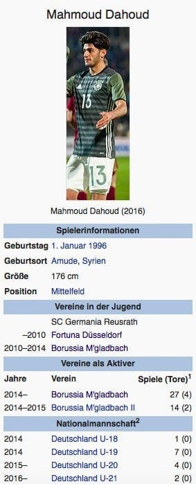 Mahmoud Dahoud / Screenshot Wikipedia