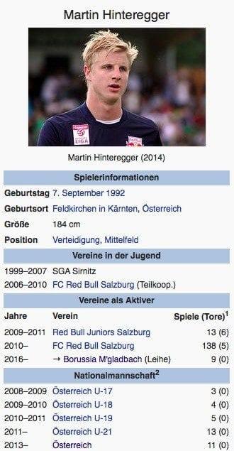 Martin Hinteregger / Screenshot Wikipedia