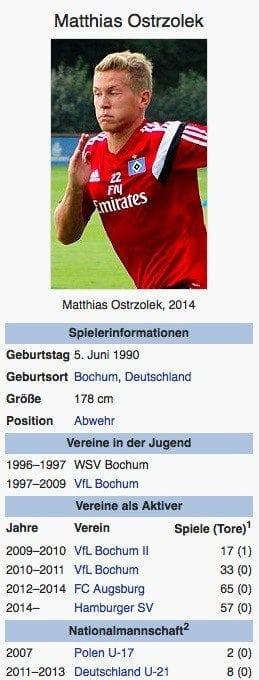 Matthias Ostrzolek / Screenshot Wikipedia