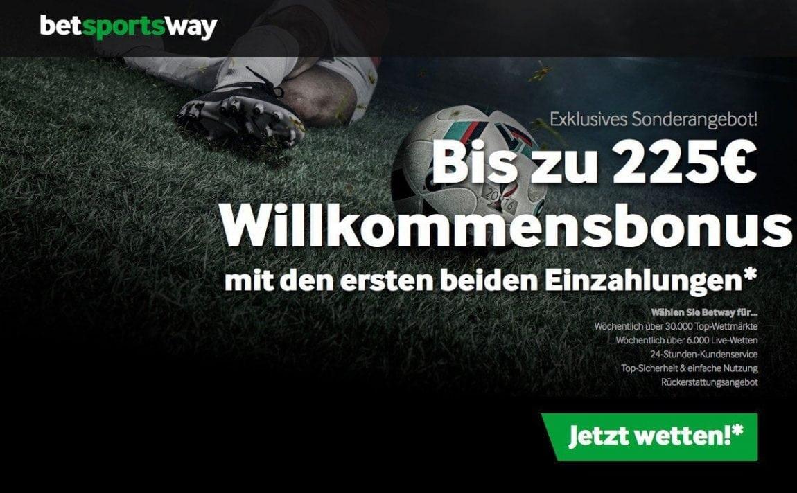 Tolles Angebot: Die Betway Promotion zur EM 2016
