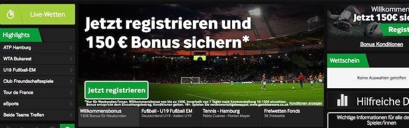 150 Euro kassieren neue Kunden als Bonus