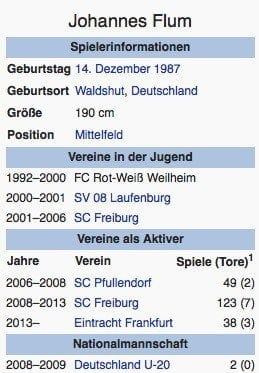 Johannes Flum / Screenshot Wikipedia