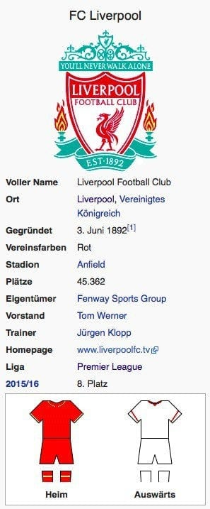 FC Liverpool / Screenshot Wikipedia