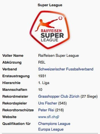 Super League / Screenshot Wikipedia