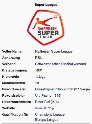 Super League / Screenshot Wikipedia
