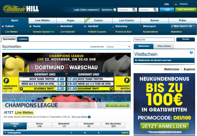 william hill website