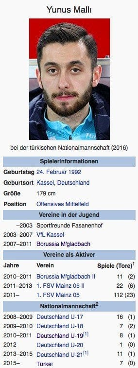 Yunus Malli / Screenshot Wikipedia