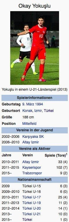 Okay Yokuslu / Screenshot Wikipedia