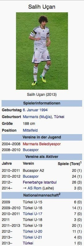 Salih Ucan / Screenshot Wikipedia