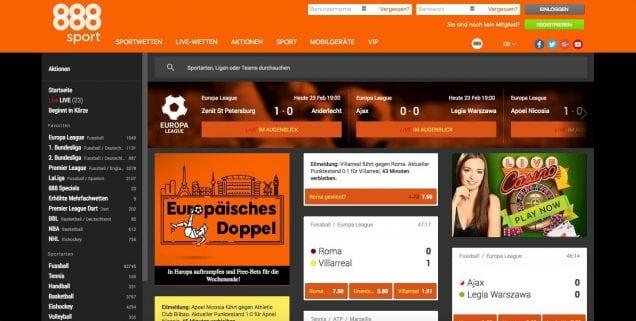 888sport Startseite