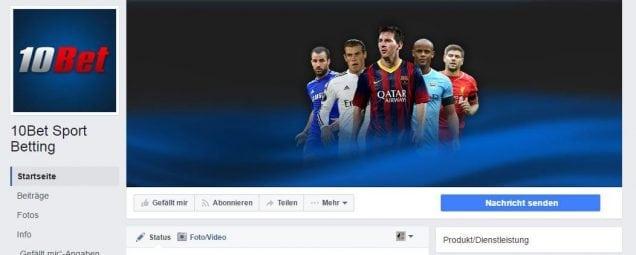 10bet Facebook