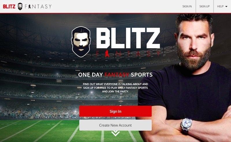 Der US-Amerikaner Dan Bilzerian wirbt für das Angebot von BlitzFantasy
