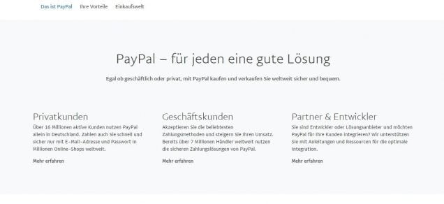 Betway paypal Zahlung