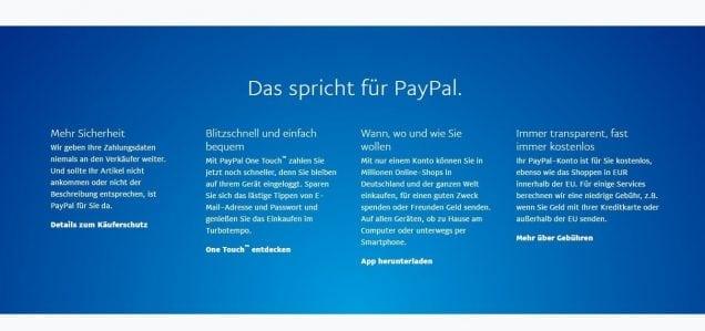 Betway PayPal Gründe für PayPal